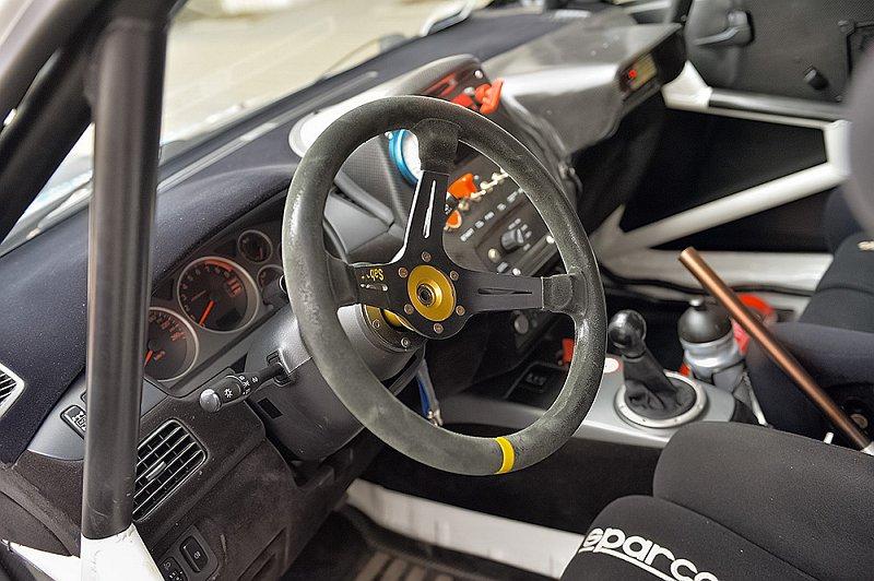 Wnętrze Lancer Evo IX RS